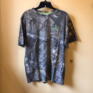 Men's Realtree camouflage tee